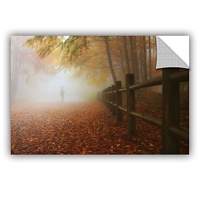 Ebern Designs 'My Way to Autumn' Photographic Print; 32'' H x 48'' W x 0.1'' D