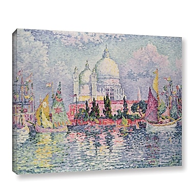 Ebern Designs 'Santa Maria Della Salute, 1908' by Paul Signac Painting Print on Wrapped Canvas