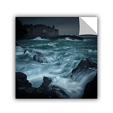 Ebern Designs 'Waves Fury' Photographic Print; 24'' H x 24'' W x 0.1'' D