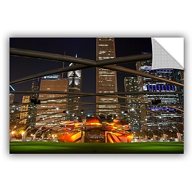 Ebern Designs 'Chicago Millennium' Photographic Print; 32'' H x 48'' W x 0.1'' D