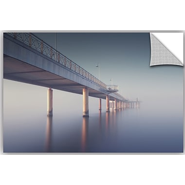 Ebern Designs 'Heaven Bridge' Photographic Print; 16'' H x 24'' W x 0.1'' D