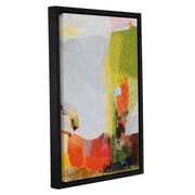 George Oliver 'Gift of 65 Roses' Framed Graphic Art Print on Canvas; 36'' H x 24'' W x 2'' D
