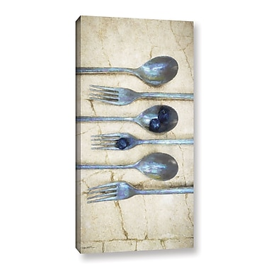 Gracie Oaks 'Culinary 1' Graphic Art on Wrapped Canvas; 12'' H x 6'' W x 2'' D