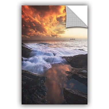 East Urban Home 'Water and Fire' Photographic Print; 24'' H x 16'' W x 0.1'' D