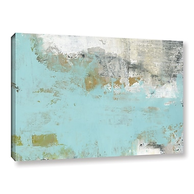 Ivy Bronx 'Lakeside' Painting Print on Wrapped Canvas; 14'' H x 18'' W x 2'' D