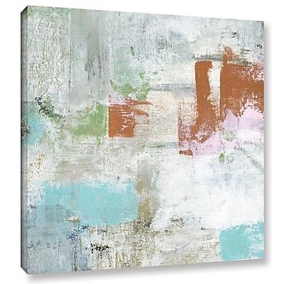 Ivy Bronx 'Pumpkin Pie' Painting Print on Wrapped Canvas; 18'' H x 18'' W x 2'' D