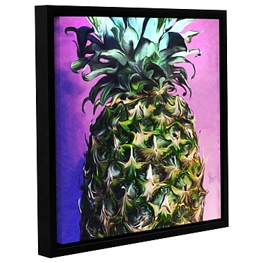 Ivy Bronx 'Vitamin C' Framed Graphic Art; 18'' H x 18'' W x 2'' D