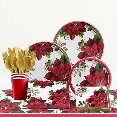 Creative Converting Golden Greenery Paper and Plastic Tableware Kit