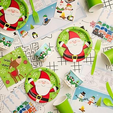 Creative Converting Snowflake Fun Kid's Tableware Kit