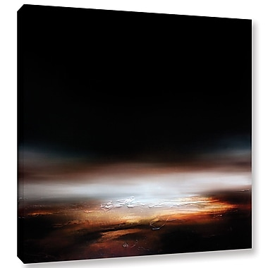 Ebern Designs 'First Light 1' Painting Print on Wrapped Canvas; 24'' H x 24'' W