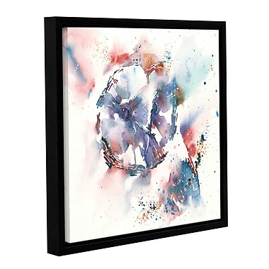 Latitude Run 'I Want to Be Alone' Framed Painting Print on Wrapped Canvas; 10'' H x 10'' W x 2'' D