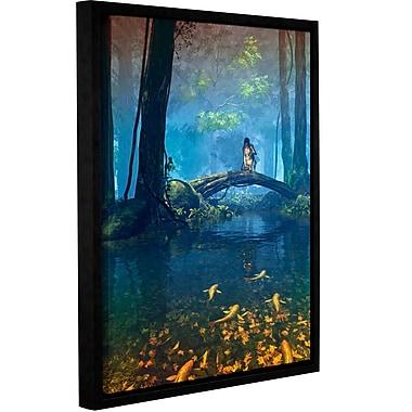 Latitude Run 'Lantern Bearer' Framed Graphic Art on Wrapped Canvas; 48'' H x 36'' W x 2'' D