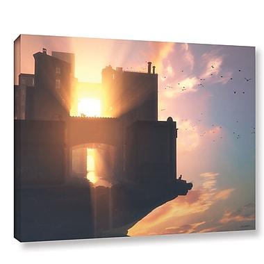 Latitude Run 'Last Light' Photographic Print on Wrapped Canvas; 18'' H x 24'' W x 2'' D