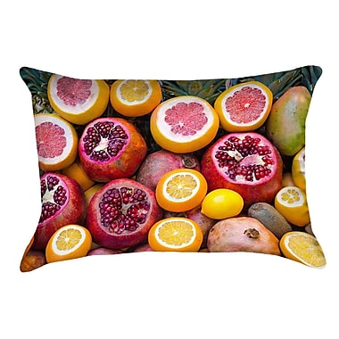 East Urban Home Fruits Square Pillow Cover w/ Zipper; 26'' x 26''