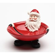 The Holiday Aisle Santa Footed Candy Decorative Bowl