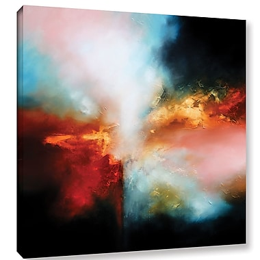 Varick Gallery 'Falling' Painting Print on Wrapped Canvas; 24'' H x 24'' W