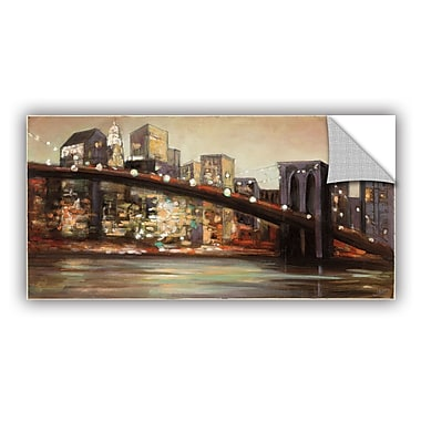 Williston Forge 'NYC after Hours' Painting Print; 24'' H x 48'' W x 0.1'' D