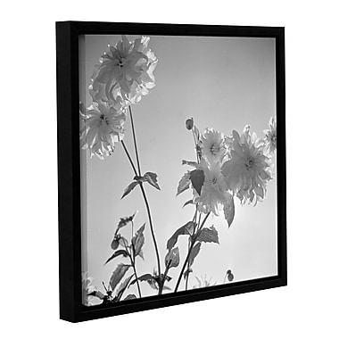 'Flowers at a Public Garden in Munich, Germany 1930s 2' Framed Photographic Print on Wrapped Canvas