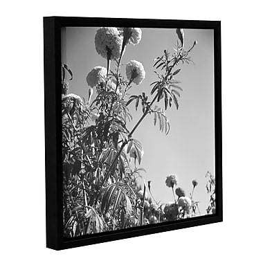 'Flowers at a Public Garden in Munich, Germany 1930s' Framed Photographic Print on Wrapped Canvas