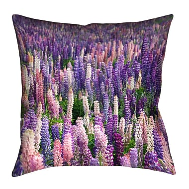 Latitude Run Joyeta Field Throw Pillow; 18'' x 18''