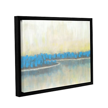 Latitude Run 'A New Adventure 1' Framed Painting Print on Wrapped Canvas; 14'' H x 18'' W x 2'' D