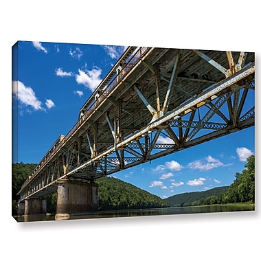 Latitude Run 'Allegheny 9' Photographic Print on Wrapped Canvas; 8'' H x 12'' W x 2'' D
