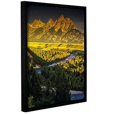 Latitude Run 'Grand Tetons' Framed Photographic Print; 48'' H x 36'' W x 2'' D