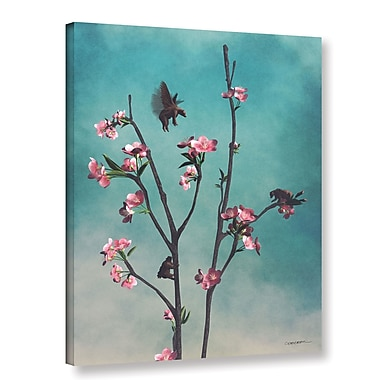 Latitude Run 'Hummingbears' Graphic Art on Wrapped Canvas; 24'' H x 18'' W x 2'' D
