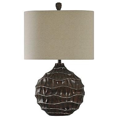Bloomsbury Market Cienna Ripple Effect 32'' Table Lamp