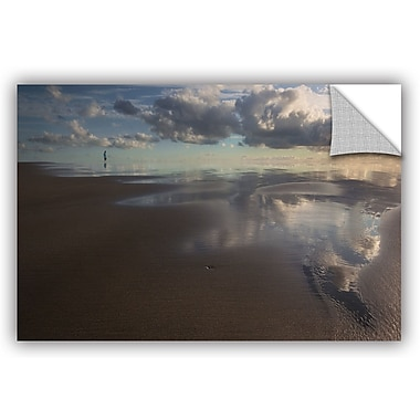 Ebern Designs 'Skyfall' Painting Print; 16'' H x 24'' W x 0.1'' D