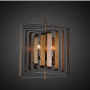 Everly Quinn Jinie 4-Light Geometric Pendant