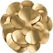 Everly Quinn Slices of Gold II Wall Decor