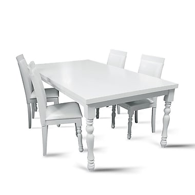 Darby Home Co Daisi 5 Piece Dining Set