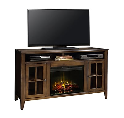 Darby Home Co Delron 60'' TV Stand w/ Electric Fireplace