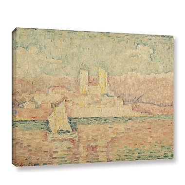 Ebern Designs 'Antibes Morning, 1919' by Paul Signac Painting Print on Wrapped Canvas