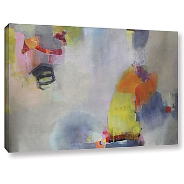 Ebern Designs 'Rolling the Dice' Painting Print on Canvas; 32'' H x 48'' W x 2'' D