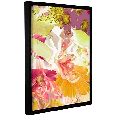 Ebern Designs 'Exotic Appearance' Framed Graphic Art Print on Canvas; 10'' H x 8'' W x 2'' D
