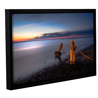 Latitude Run 'Presque 1' Framed Photographic Print; 16'' H x 24'' W x 2'' D