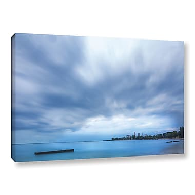 Latitude Run 'Cleveland Sky' Photographic Print on Wrapped Canvas; 8'' H x 12'' W x 2'' D