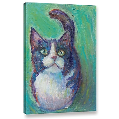 Latitude Run 'Cookie Bean' Painting Print on Wrapped Canvas; 12'' H x 8'' W x 2'' D