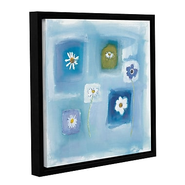 Latitude Run 'Calm Breeze' Framed Painting Print on Framed Wrapped Canvas; 24'' H x 24'' W x 2'' D