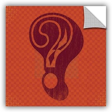Ebern Designs 'Question' Graphic Art; 36'' H x 36'' W x 0.1'' D