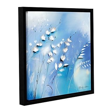 Latitude Run 'Blue Whips' Framed Painting Print; 48'' H x 36'' W x 2'' D