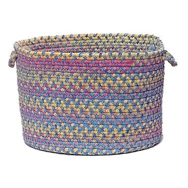 Harriet Bee Oliver Braided Storage Basket; Oasis Blue