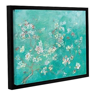 Bloomsbury Market 'Butter Blossoms Flowers' Framed Graphic Art; 36'' H x 48'' W x 2'' D