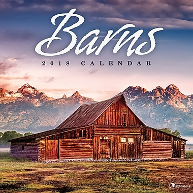 Tf Publishing 2018 Barns Wall Calendar 12