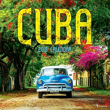 Tf Publishing 2018 Cuba Wall Calendar 12