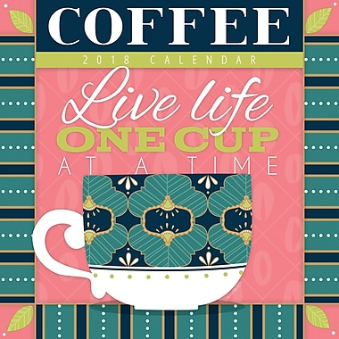 Tf Publishing 2018 Coffee Wall Calendar 12