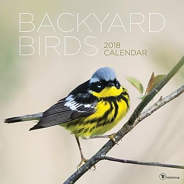 Tf Publishing 2018 Backyard Birds Wall Calendar 12