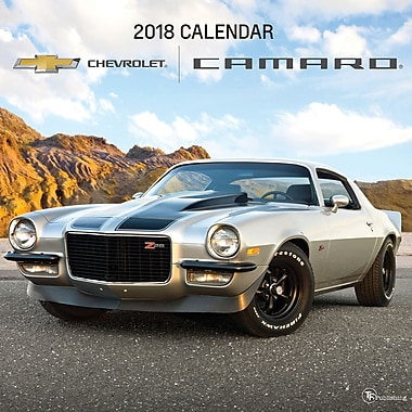 Tf Publishing 2018 Camaro Wall Calendar 12